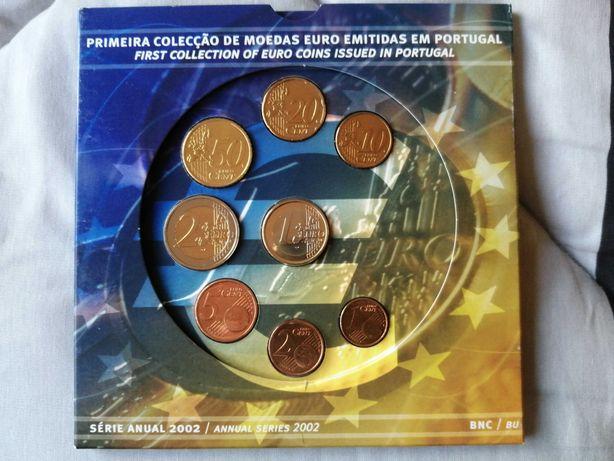 Coleção Moedas Euro emitidas em Portugal