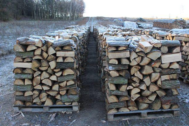 Drewno Kominkowe Dąb Sezonowany 2 lata