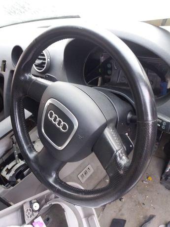 Audi a3 8p kierownica z Airbag łopatki Dsg
