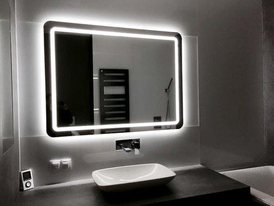 Зеркало в ванную от производителя Glasset