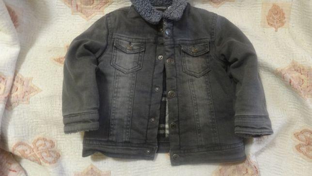 Джинсовая куртка Brums, размер 18м