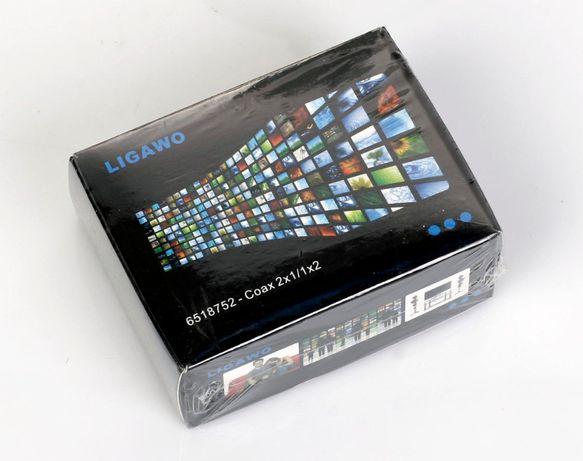 Dekoder Audio Ligawo - Coax 2x1/1x2