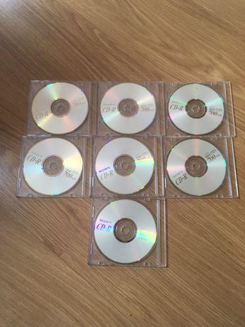 7 CD-R 700 MG \ 80 min em caixas finas