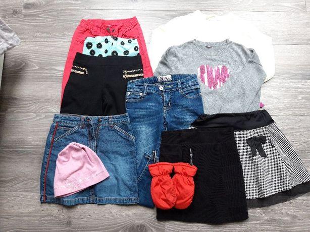 zestaw ubrań jesienny, paka H&M, Cocodrillo, inne,rozmiar 122-134 cm
