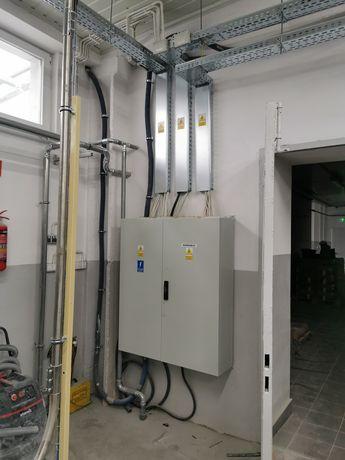 Instalacje elektryczne, elektryka, Śląsk, elektryk