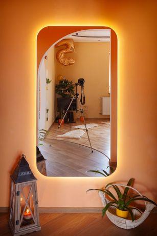 Дзеркало (зеркало) з LED підсвіткою та сенсорним вимикачем