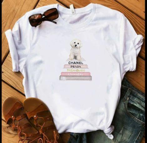 Koszulka bluzka t-shirt pies Maltańczyk Maltese S-XXL
