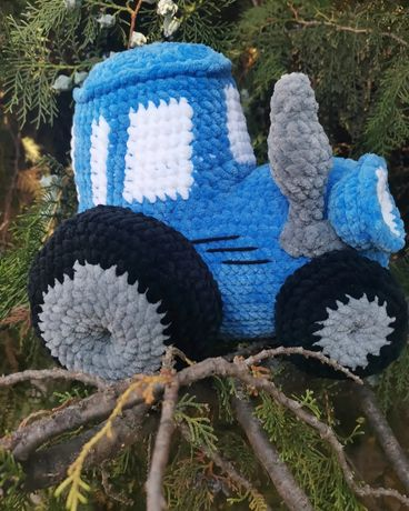 Синий трактор герой мультфильма