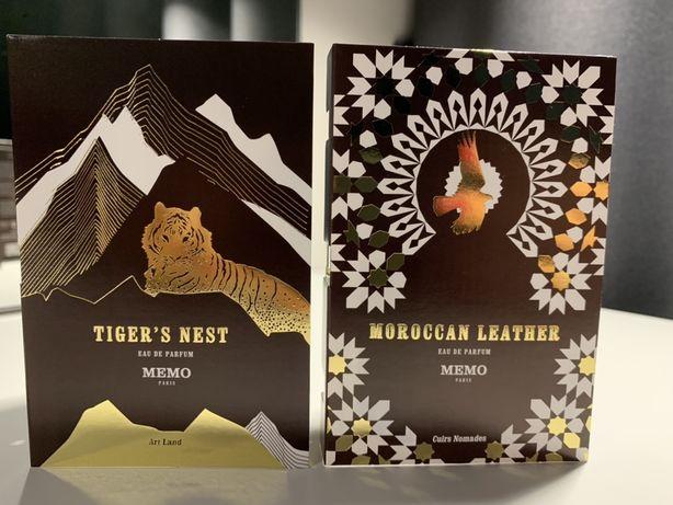 Оригинальные пробники ароматов MEMO