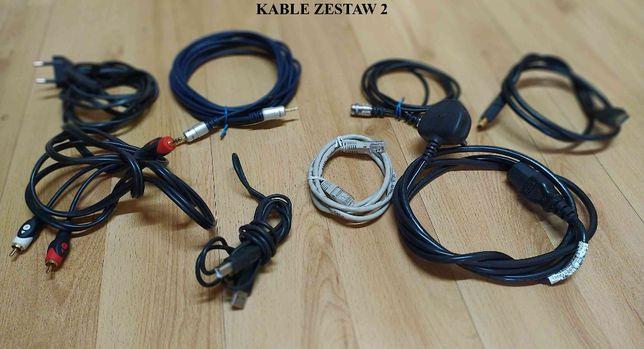 Kable kabelki do - komputer, audio, muzyka nagłośnienia instrumentów