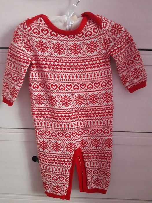 Pajacyk 68 świąteczny jak sweterek Gdynia - image 1