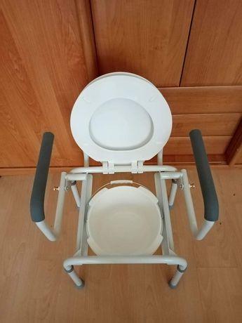 Toaleta dla seniora, dla niepełnosprawny, przenośna