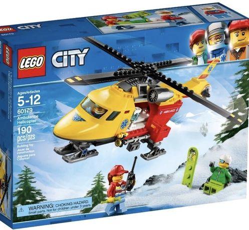 Lego city Вертолет скорой помощи, 5-12 лет, в идеале