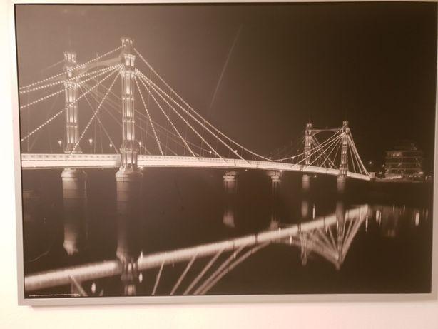 Obraz Most Św.Andrzeja czarno-biały,140x100 Ikea ;-)