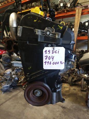 Motor 1.5 dci k9k704 com 116000 km