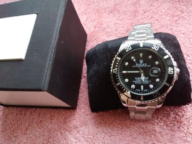 Подарунок! Елітний годинник чоловічий Rolex (часы мужские + коробка)