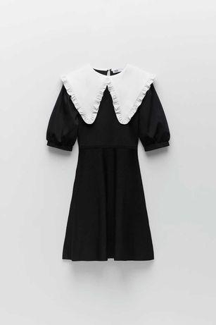 Трикотажное мини-платье Zara (S M L)