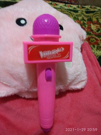 Мікрофон іграшка