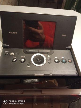 Canon Mp810.принтер сканер ксерокс. На запчасти.