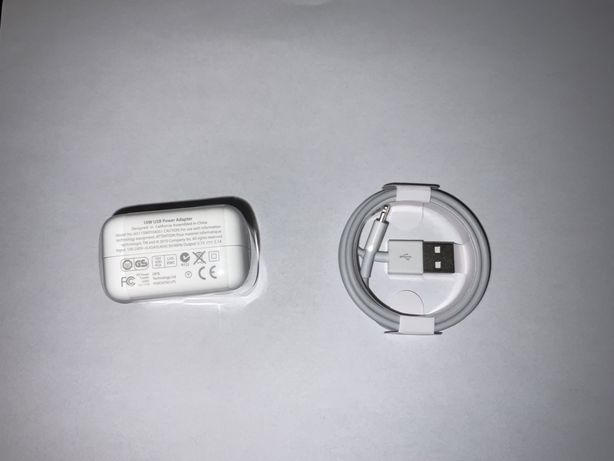Зарядне для iPad Apple 10W + кабель USB-A to lightning 1м
