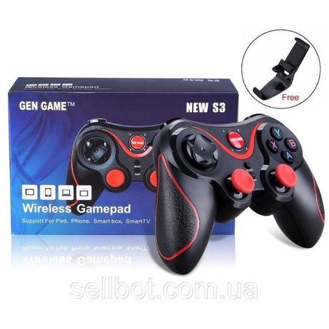 ⫸Bluetooth Джойстик Геймпад S3 Gamepad Android Box joystick T3 СмартТВ