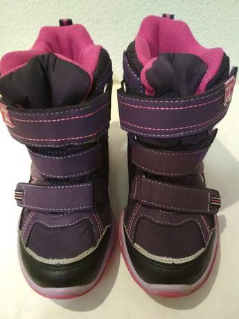 Зимние сапоги термо ботинки  cortina девочке