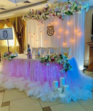 Свадебная арка, свадебный декор