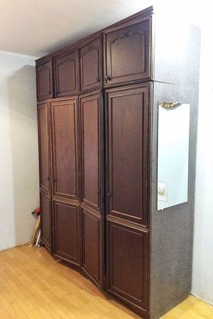 ДЕШЕВО Стінка оксамит 5 секцій мебель