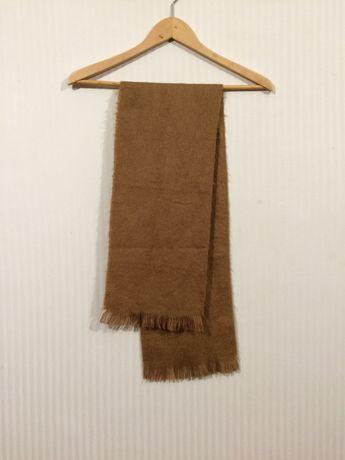 Шерстяной одноцветный шарф