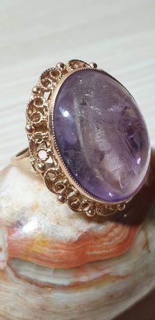 Piękny pierścionek złoty w próbie 583, waga 11,5 grama, Vintage Okazja