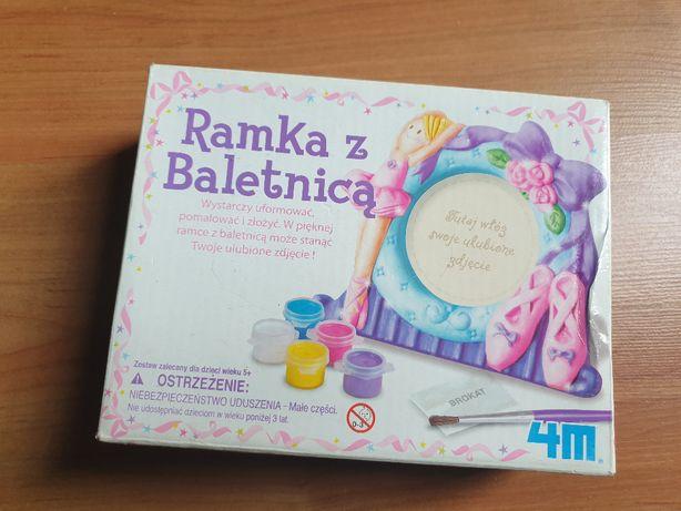 Ramka z baletnicą - zabawka kreatywna