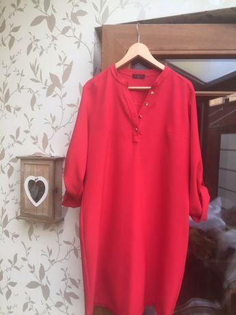 """Czerwona sukienka ,,44"""""""