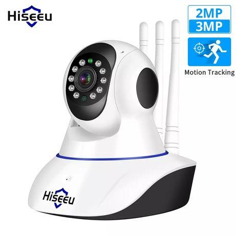 Hiseeu 1536P IP камера WIFI  360°  Видеоняня