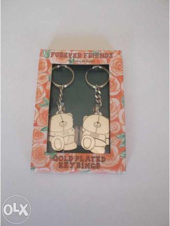 Conjunto porta-chaves para casal
