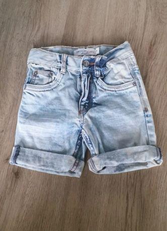 Spodenki jeansowe unisex r. 104 Lindex