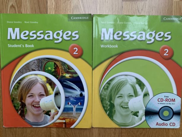 Messages 2 student's book+workbook