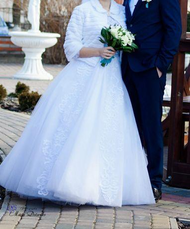 Весільна сукня білосніжна