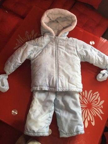 Куртка і штани зимові,зимний комбинезон,костюм,комбінезон 24міс