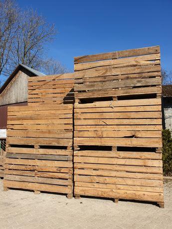 Skrzyniopalety drewniane, skrzynie, paczki