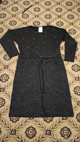 Платье теплое р. 56-58