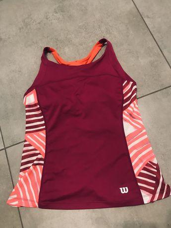 Wilson koszulka sportowa-tenisowa r.M/38