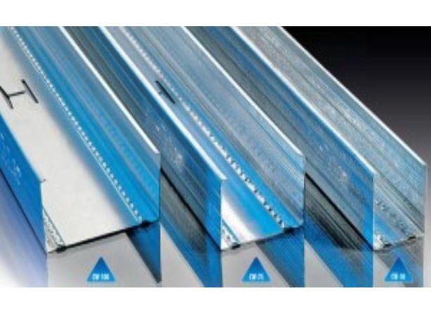 Profil C 50 CW 50 4m do płyty gipsowej do stawiania ścianek działowych
