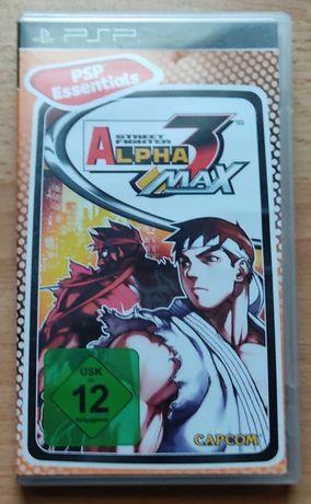 PlayStation Portable! UNIKAT Street Fighter Alpha 3 MAX! PSP - Polecam