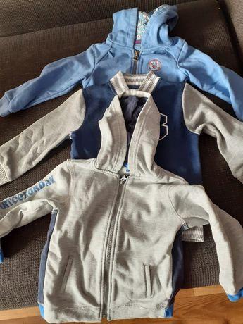 Bluzy chłopięce rozm 92-104