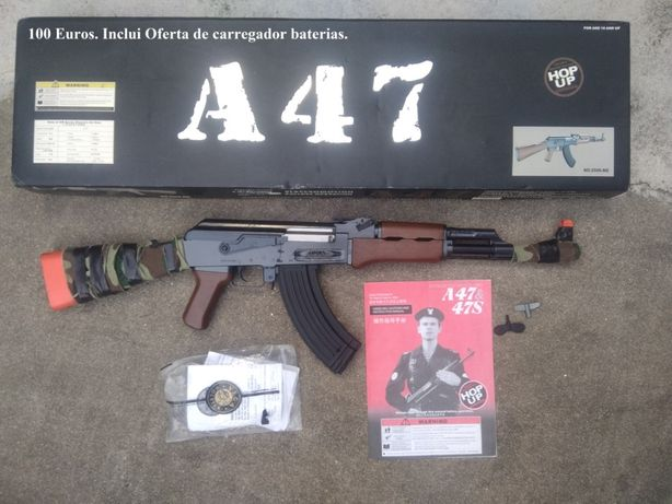 AIRSOFT - Metralhadora CYNA A47