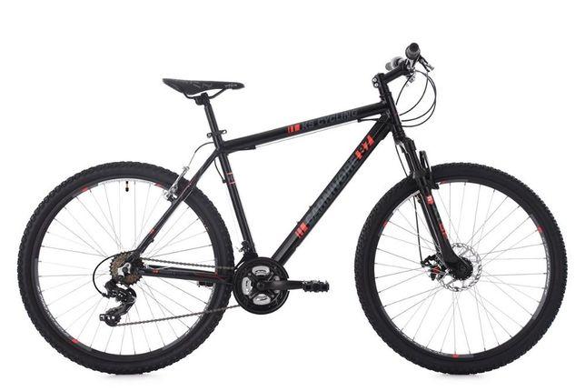 Lekki wytrzymały Rower górski 27,5 '' aluminiowa rama Carnivore czarny