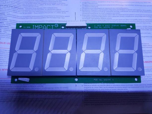Moduły 3 i 4 cyfrowe LED do zegarów i nie tylko.