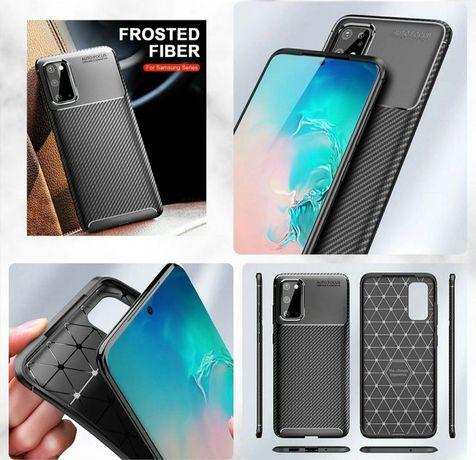 Capa Fibra Carbono Samsung A42 5G / A20e / A51 / A71 / Note 10 Lite