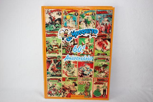 Livro- Banda Desenhada - O MOSQUITO - 60° Aniversario - 1° Edição 1996