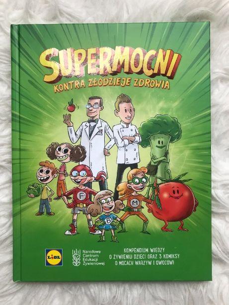 """Książka kuchnia Lidla """"Supermocni kontra złodzieje zdrowia"""""""
